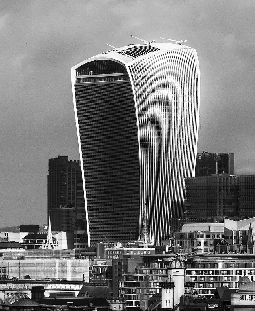 WALKIE TALKIE BUILDING, LONDON
