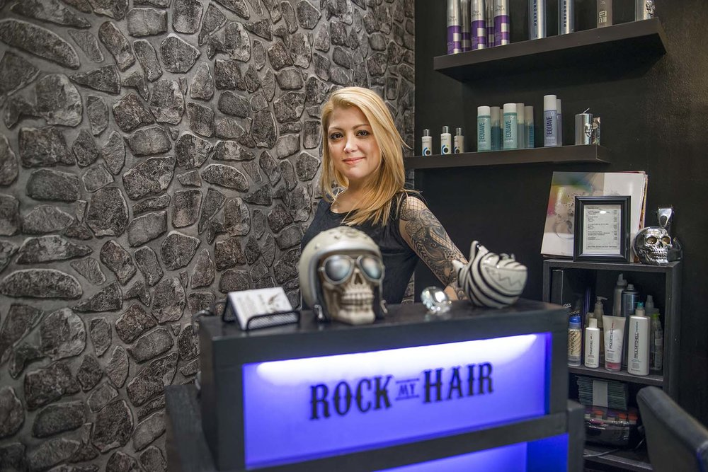 OWNER, ROCK MY HAIR, FRANKFURT