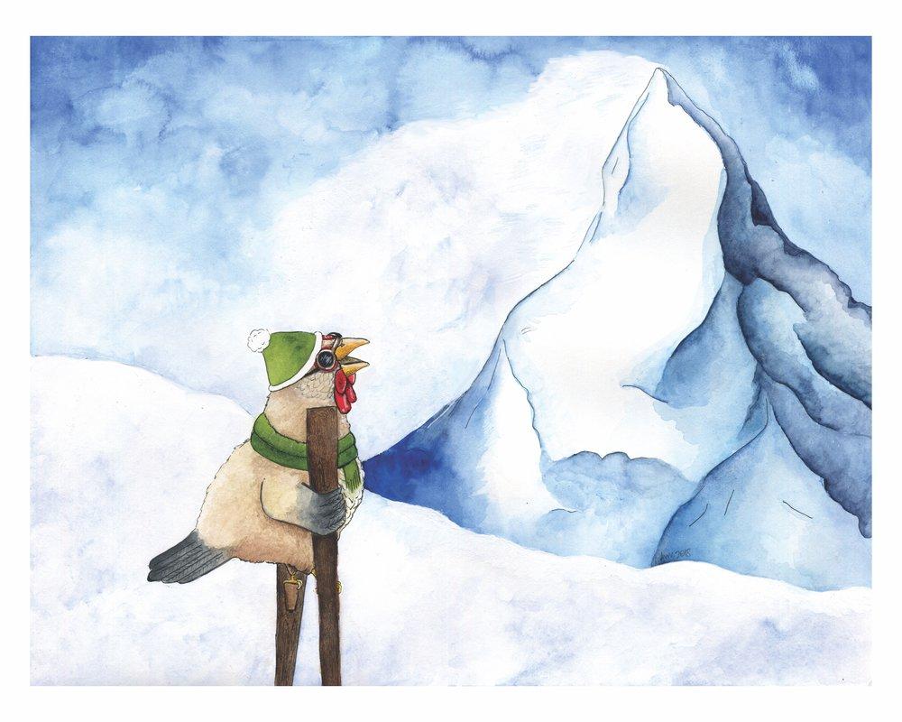 Tanya Climbs the Matterhorn