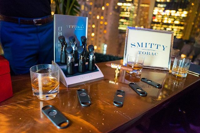 @smittytobac took over the @dreamhotels Midtown NYC rooftop at the last @wineandwhiskeynyc