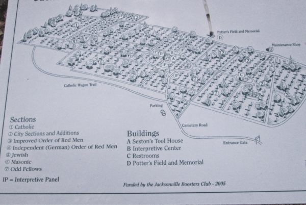 layout-of-the-jacksonville-gravesites