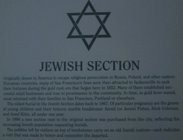 Jewish Section
