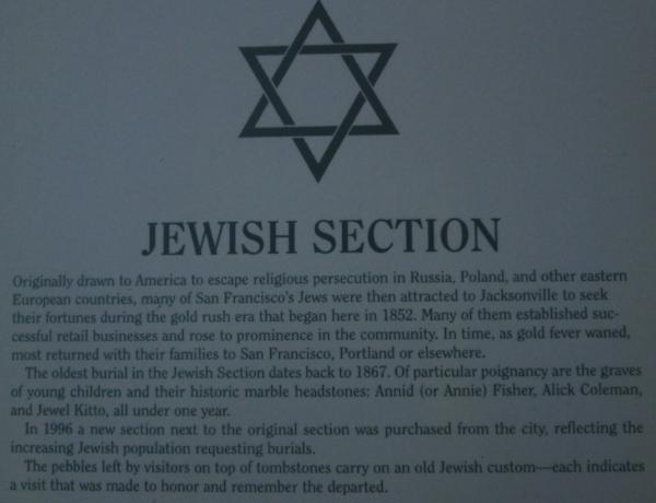 Jewish Section