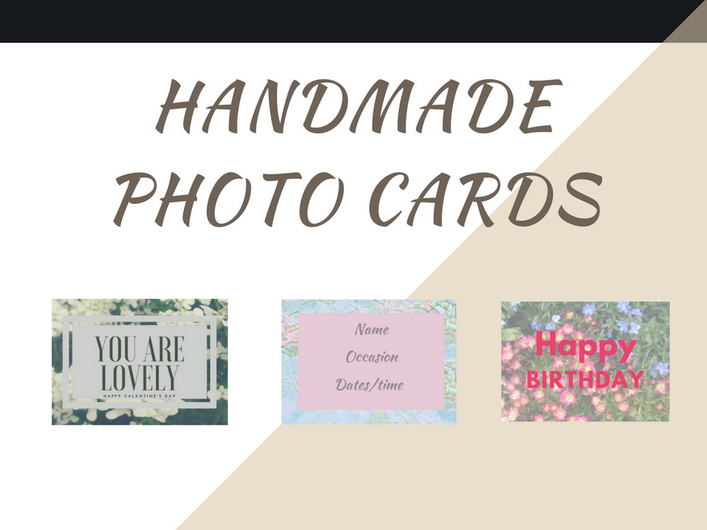 Custom photo cards - This idea to start using my images to give a variety of products to fit all my customers was actually mot my idea but my Mothers (please don't tell her). Over the past week I have been designing them along with how I wanted to sell them. Most of the ones I saw are digital downloads that you have to print out yourself. That isn't what I choose to do for my photography business period. Now let's get down to the Q&A and F&A.