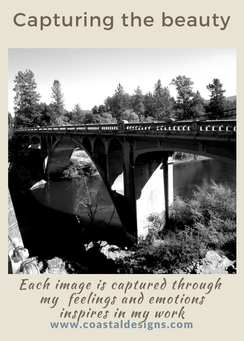 Oregon Bridges - Historical places that I write about with every image.