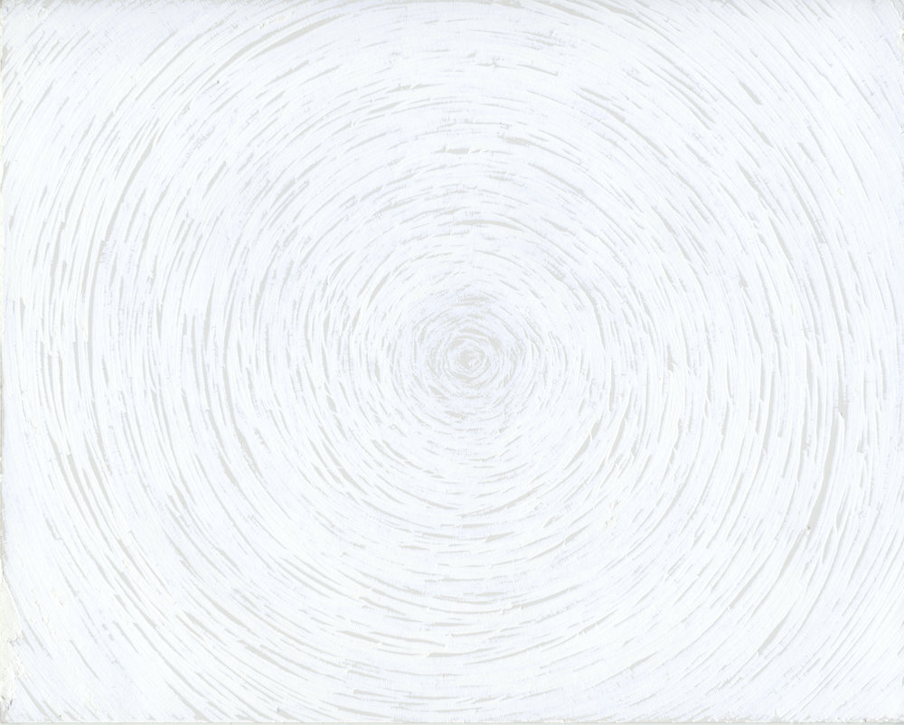 White Light Meditation 24, 2013 by Saul Robbins, $800