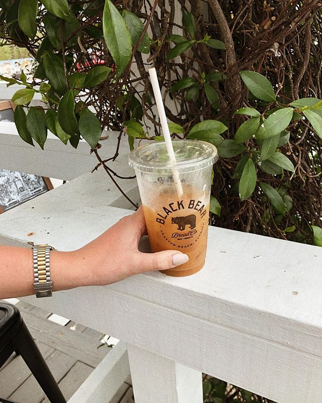 The only thing I need ☕️ Iced vanilla coffee w almond milk always ✨