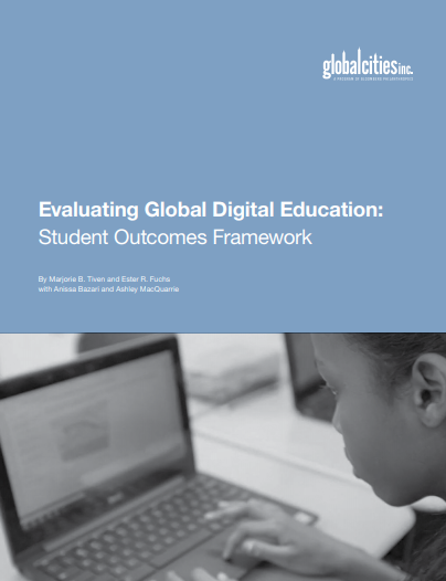 Our new report presents an evaluation framework for global education based on 9 student learning outcomes and the innovative approach of global digital exchange.