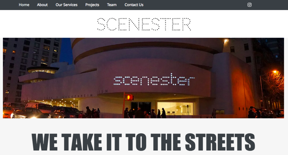 Scenester Projects