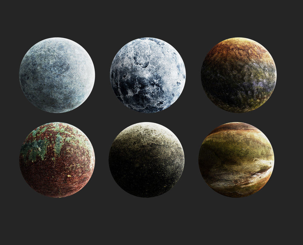 By having these planet elements we were able to create a number of websites with different looks to them. We were able to use the planets as both elements and background if we needed to.
