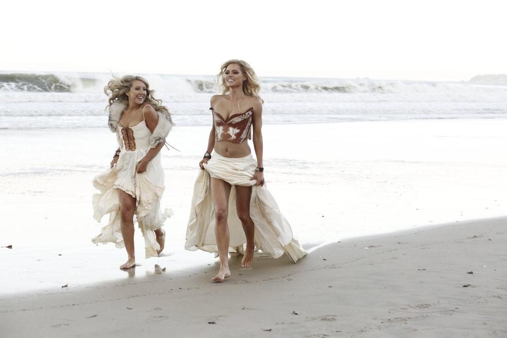 Models: Sophie Monk & Lola Berry | Photographer: Connie Puntoriero