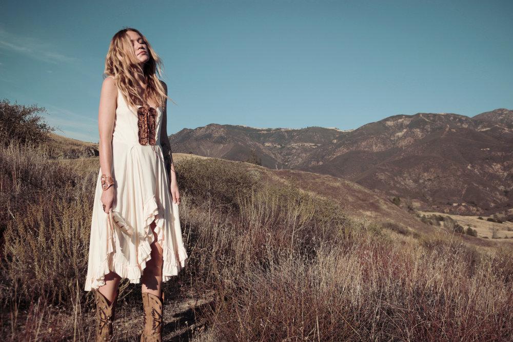 Model: Corina - Wild and Free Jewelry