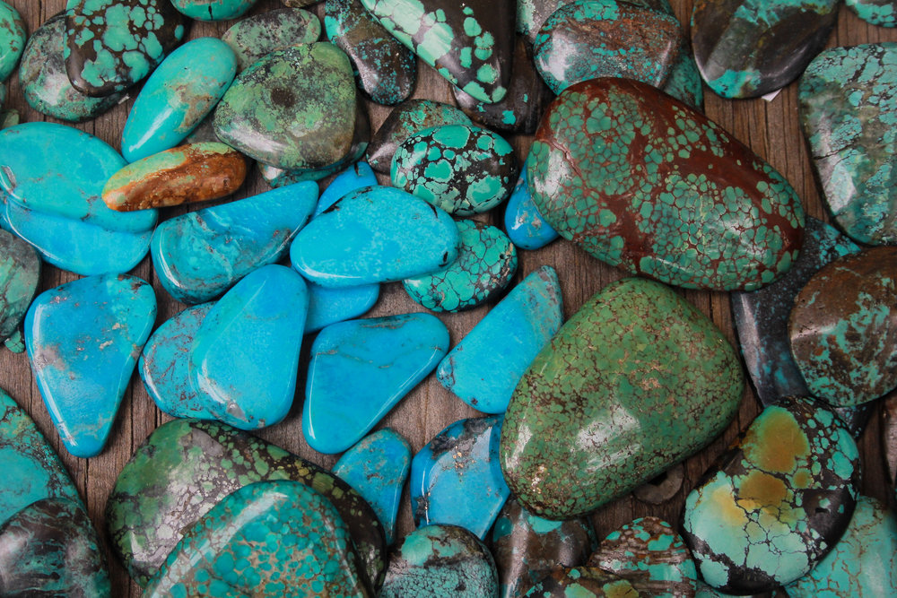 Our collection of stunning High Grade Turquoise.
