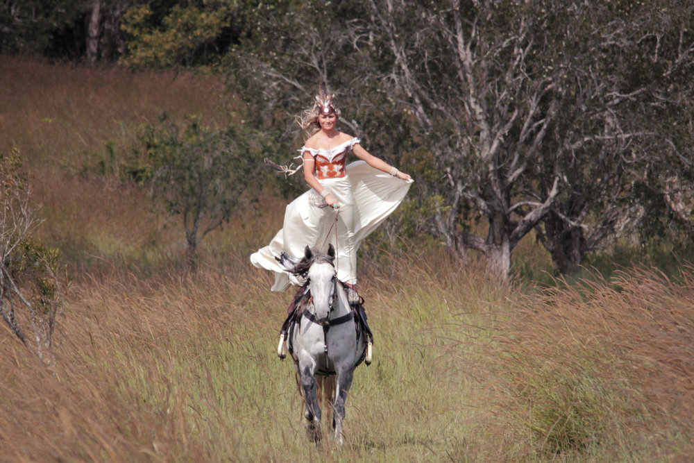 Our stunning Cowgirl photoshoot with trick rider  Sarah Thompson  and  Callum Snell . Pure joy!