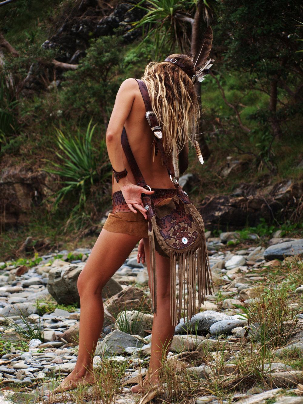 Model:Eagle Woman  Romina Gardella