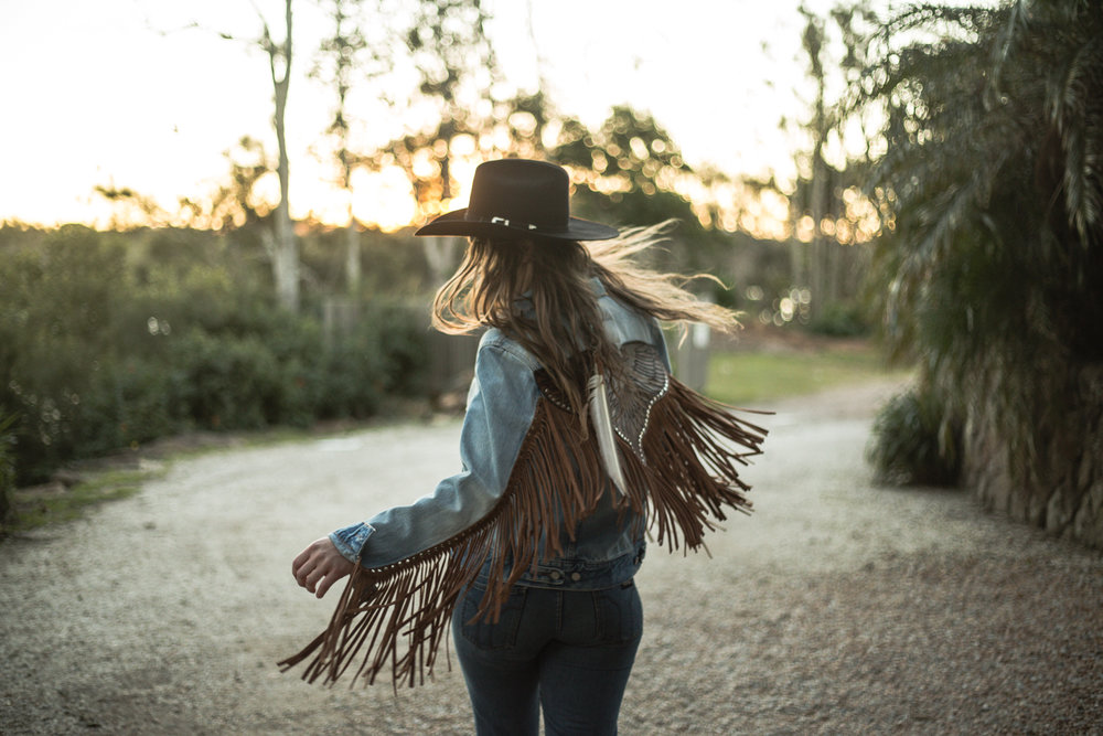 Buffalo Girl's Rebel Eagle denim jacket.