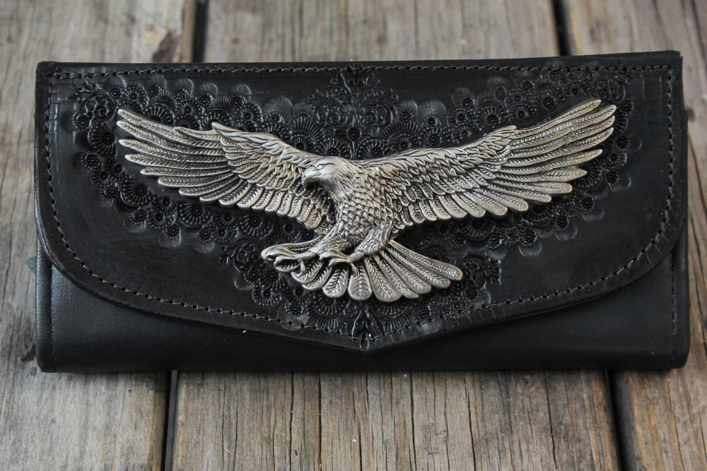Our Rebel Eagle wallet.