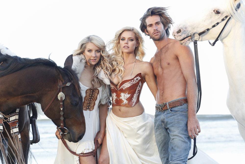 Models: Sophie Monk , Callum Snell & Lola Berry | Photographer: Connie Puntoriero
