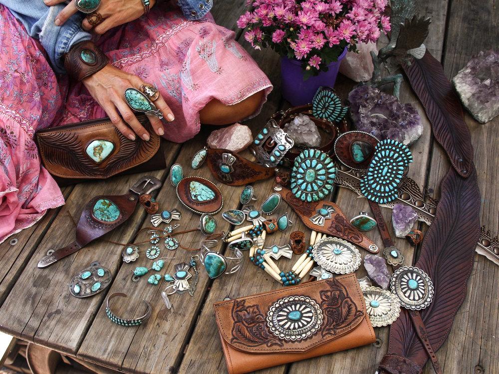 Buffalo Girl Turquoise Jewellery Collection