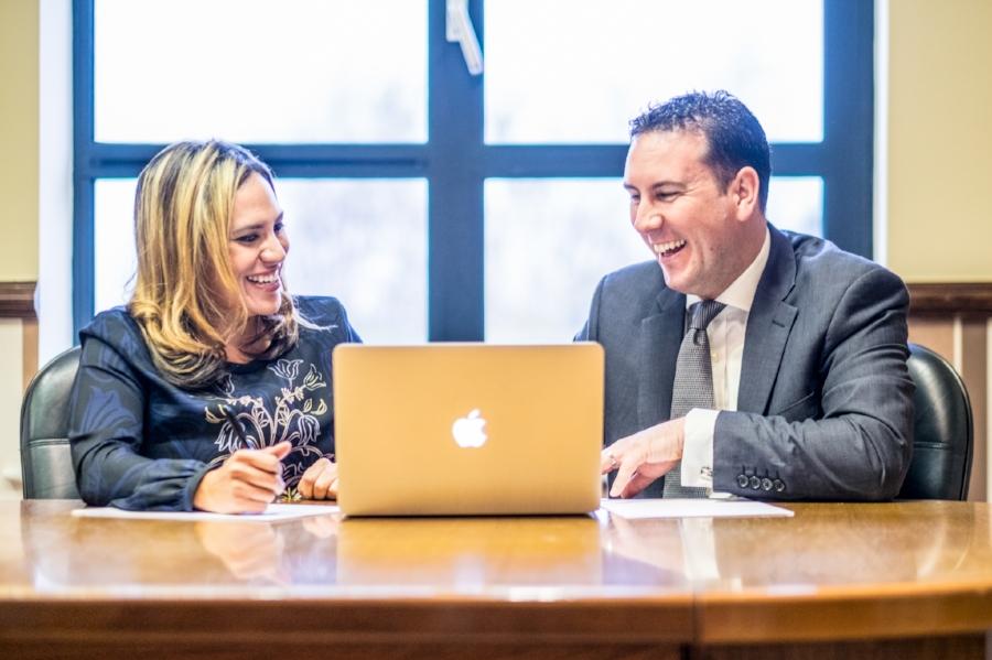 Cori Calvert & Brian O'Callaghan.