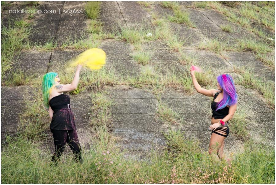 Holi Powder Photography