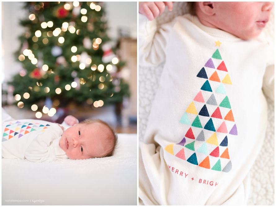 Pensacola Newborn Photographer, Christmas newborn session