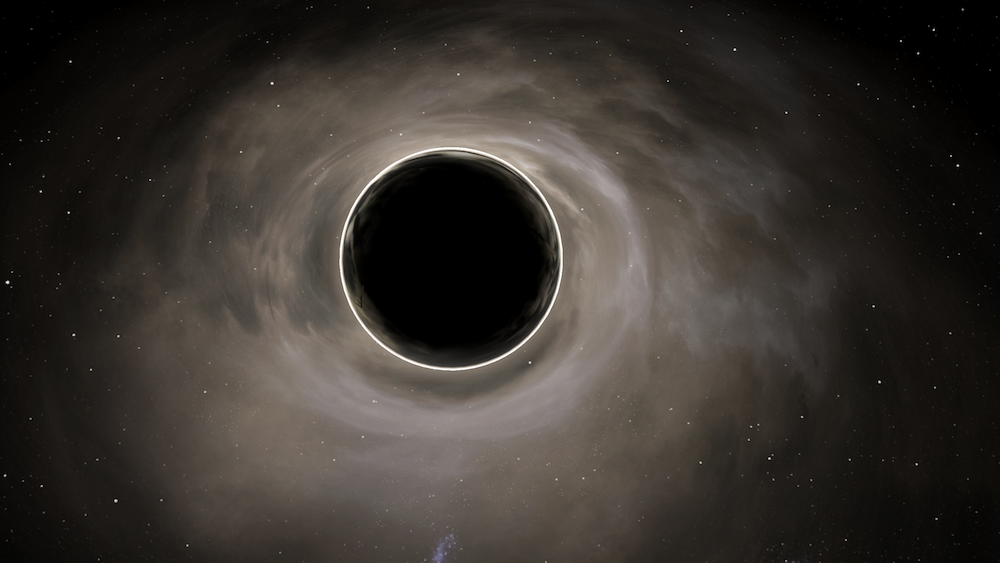 Pictured: The Belvares Maelstrom, an uncharted system containing a black hole is the last known location of the ship.