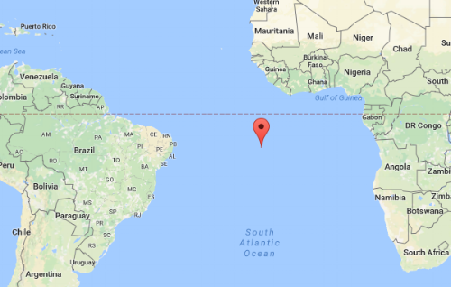 The Magic Of Ascension Island The Global American Online - Ascension island google map