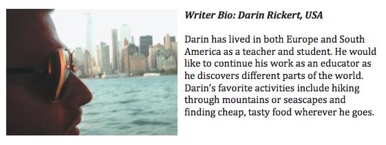 Originally written by Darin Rickert via www.darinrickert.com