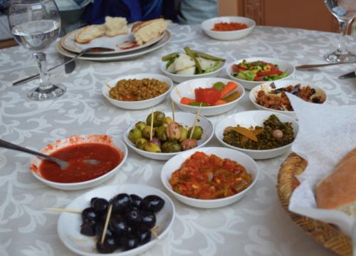 Moroccan salad spread