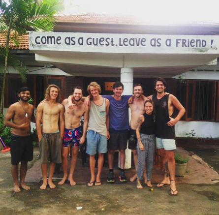 Ross, Chris, and the rest of The Dutch Hostel staff