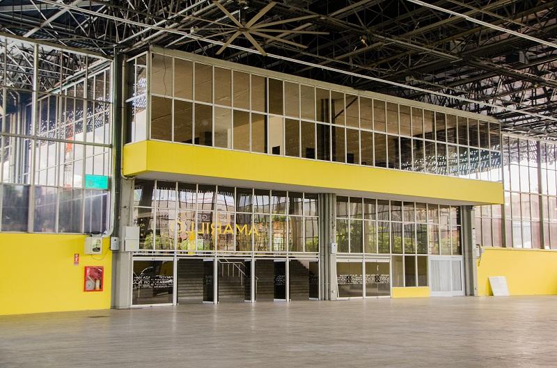 El Pabellón Amarillo donde se llevará a cabo nuestro evento.