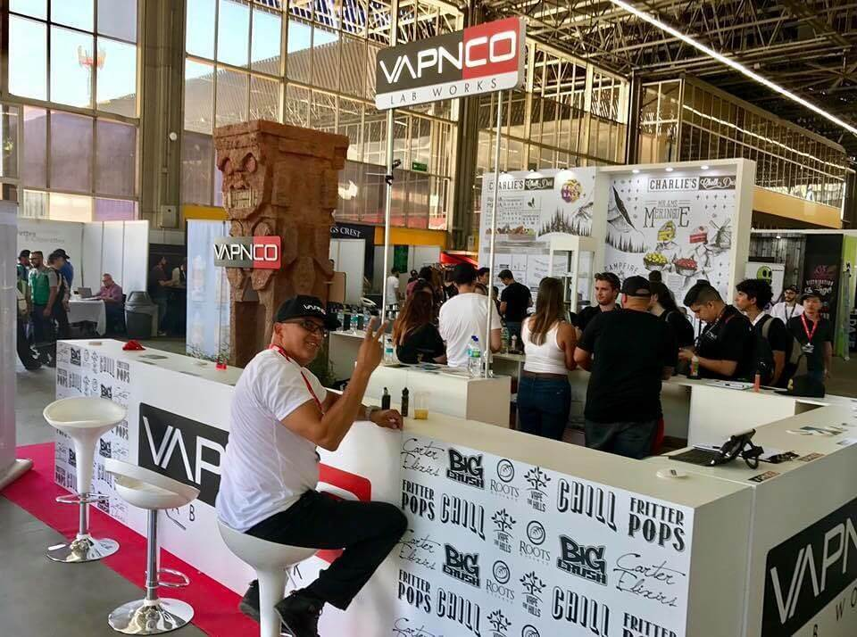 Vapnco Distribution - Vape South America Expo 2019