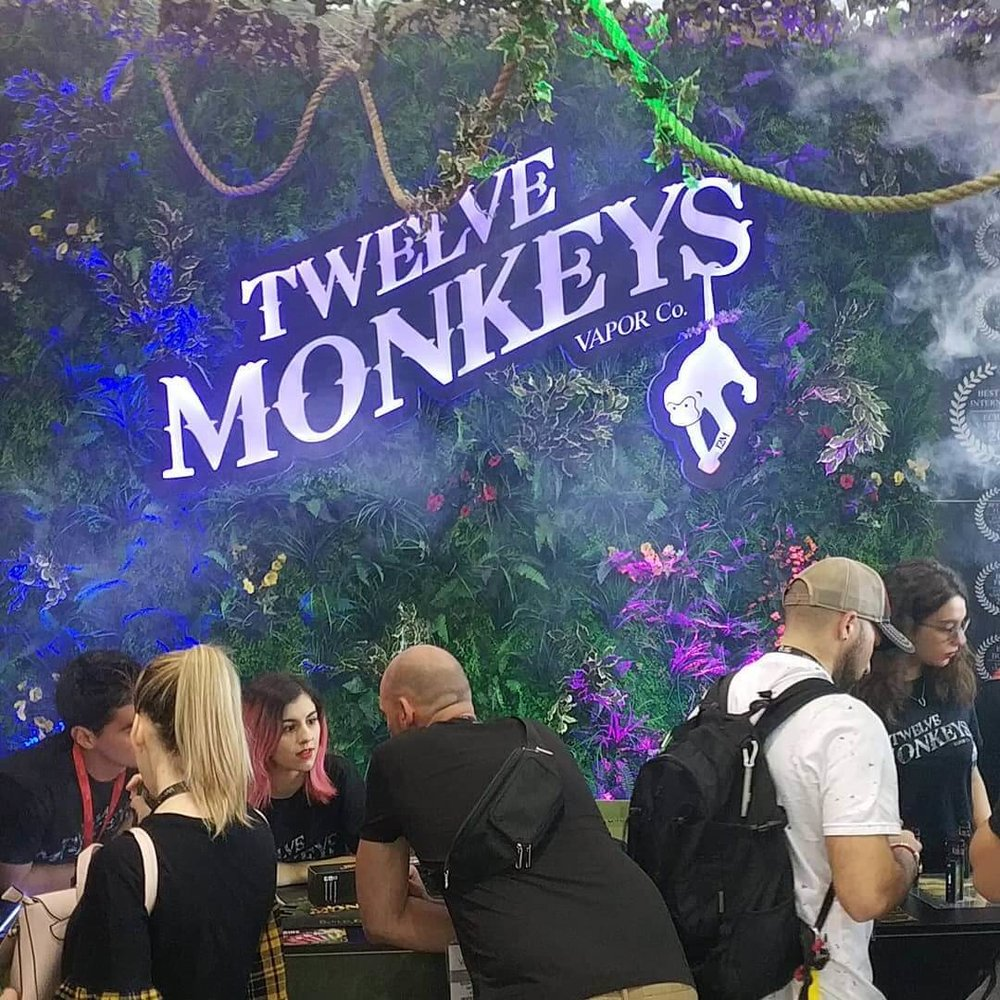 Twelve Monkeys eJuice - Vape South America Expo 2019