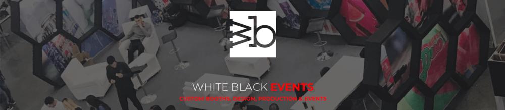 White Black Events Banner - White Black Studio