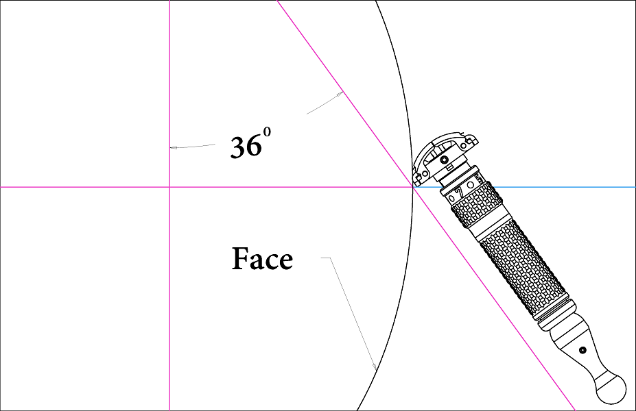 Shaving Technique - Technique is equally important as the tool.Hold the Janus Razor at an angle of ~33°-39° to the skin when shaving. After ~5 shaves, this angle will become intuitive.