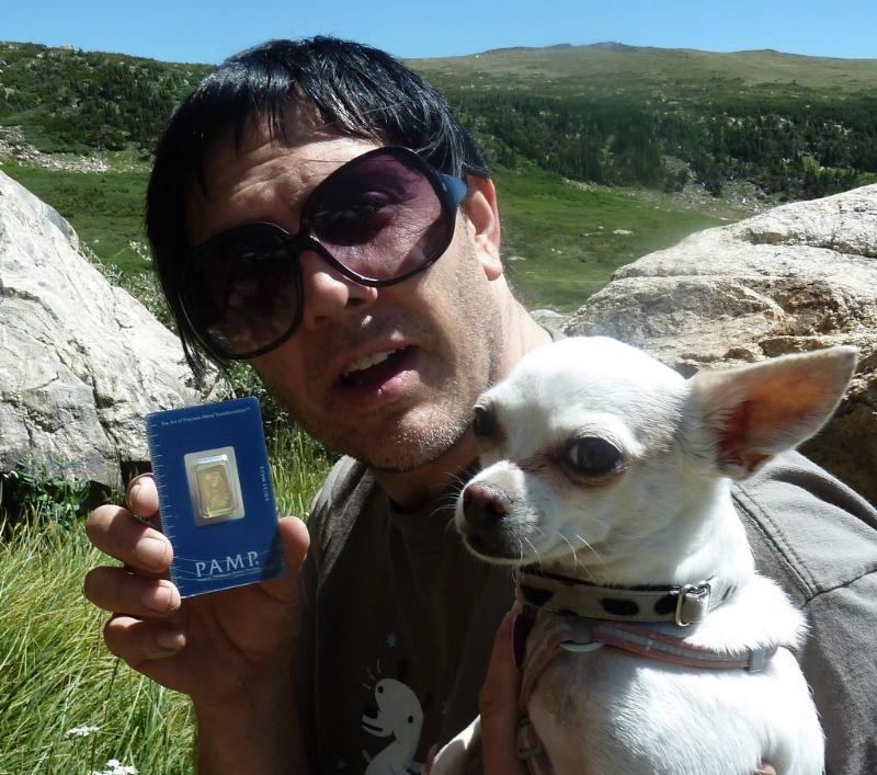 Andrew Novick - Winner of Gold hunt #1