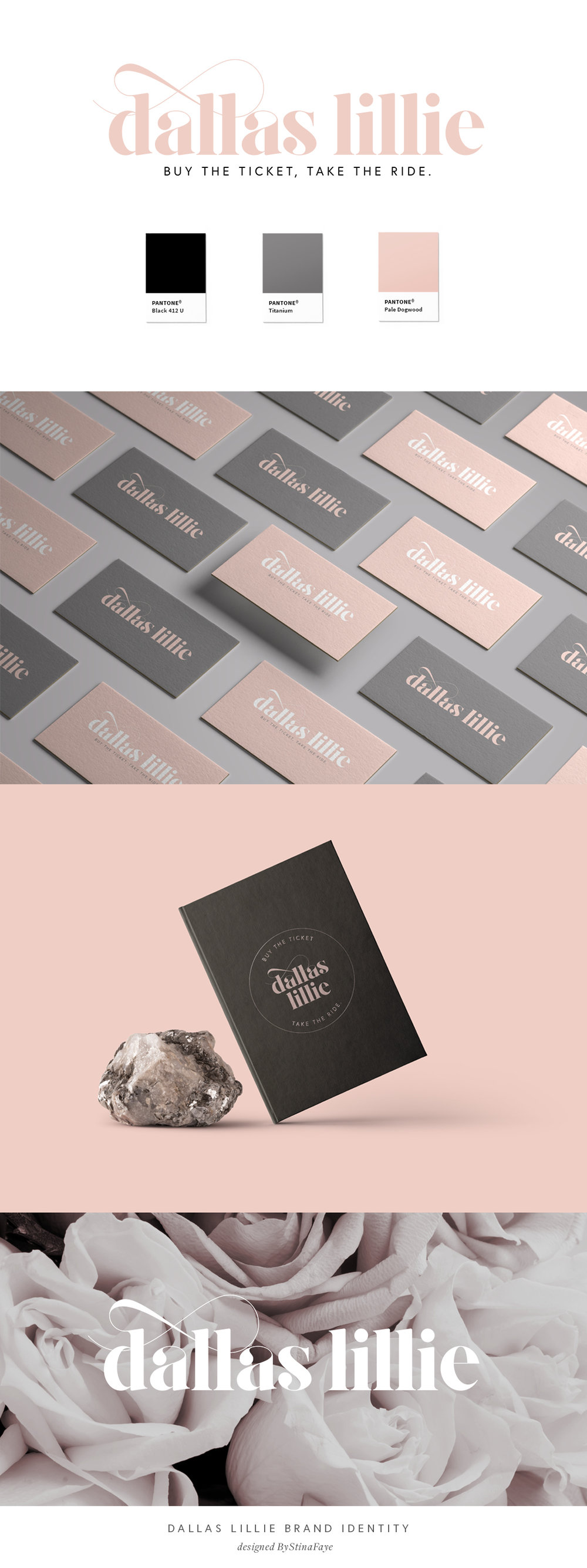 Dallas Lillie Branding By Stina Faye