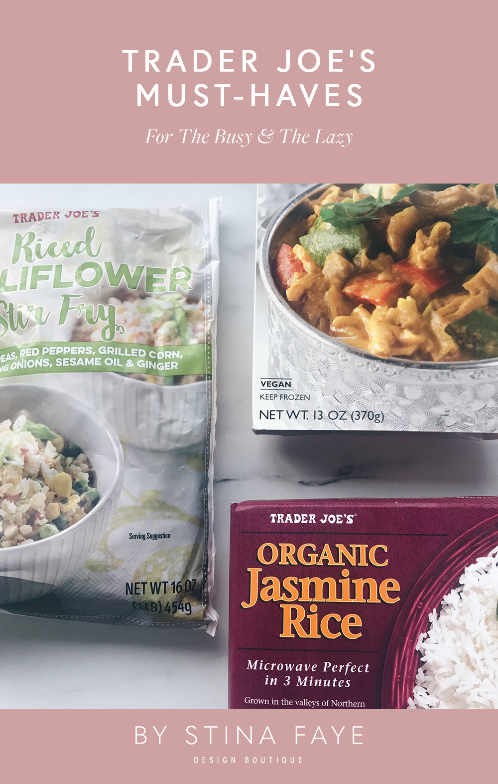 Trader Joe's Must-Haves For The Busy & The Lazy