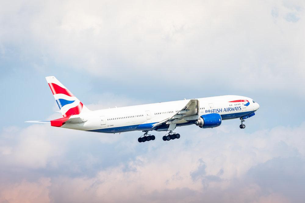 Off to London Heathrow!