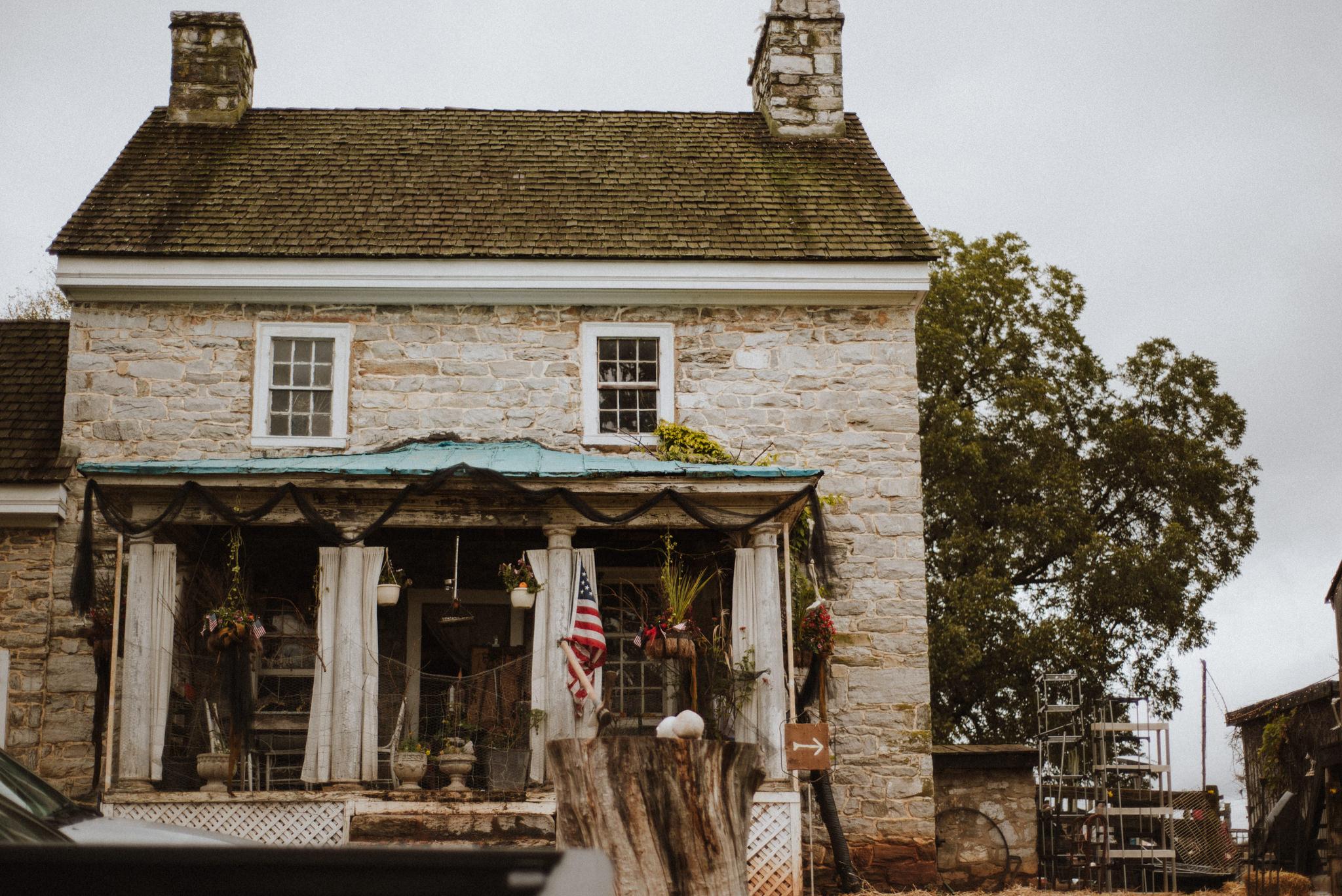 West Virginia Wedding farm