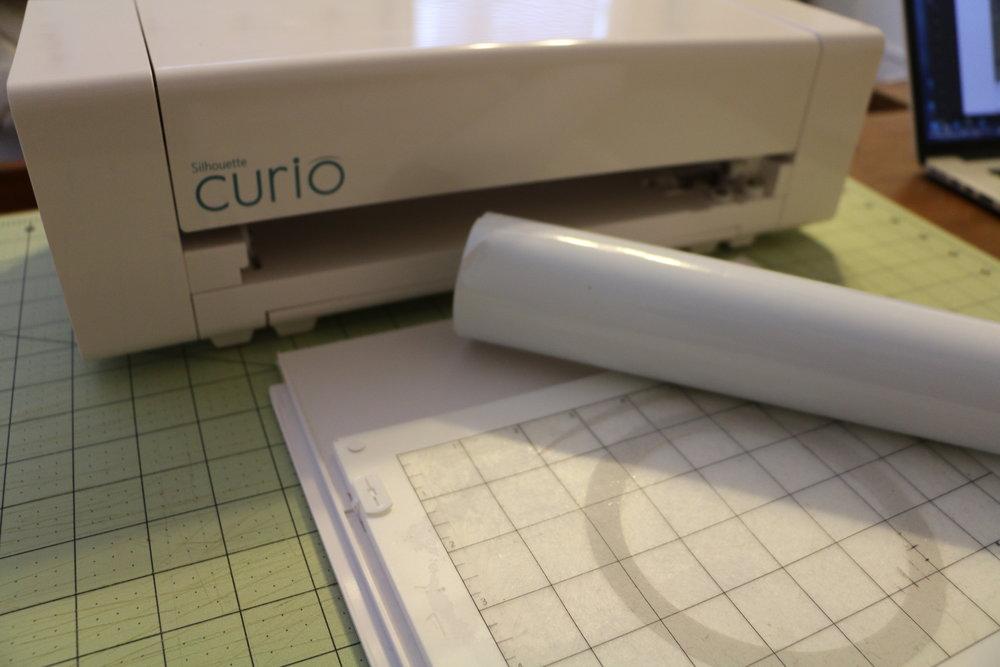 Step 2. Prepare the mat with vinyl