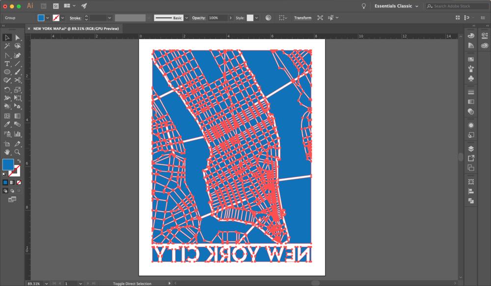 Step 1. Design the print in Illustrator