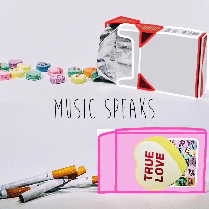 the artwork to my project, music speaks. designed by natalie schindler.