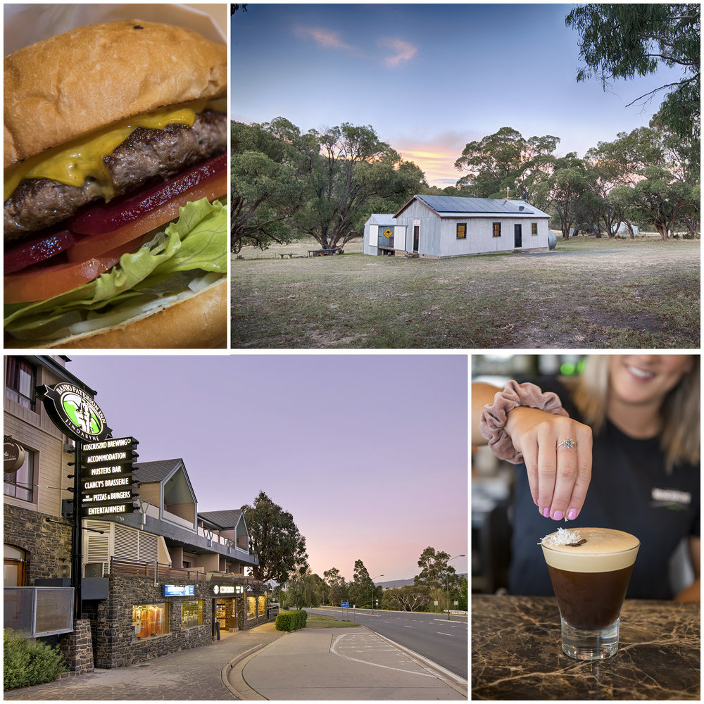 Food, drink, and the Banjo Paterson Inn; Accommodation at Beloco West - The Quarters