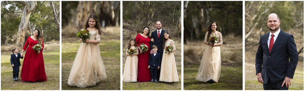 Andrea & Rob renewed their vows with their children in the KNP, followed by a customised tour of all the best snow spots