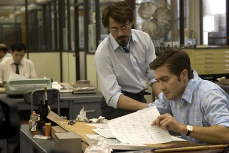 zodiac - jake gyllenhaal robert downey jr