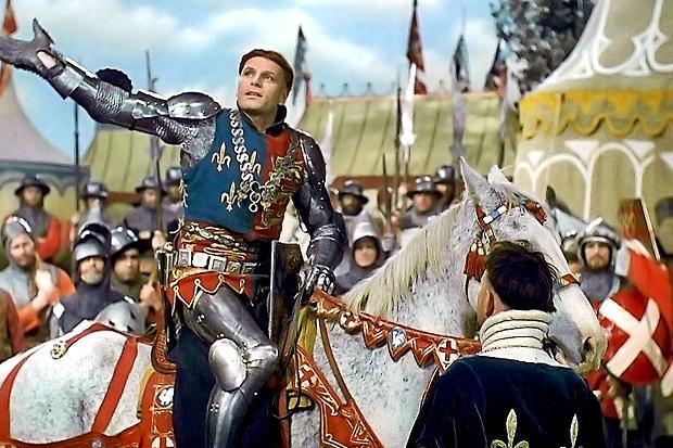 Olivier as Henry V