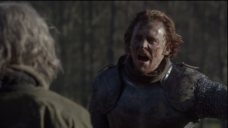 """""""Let every soldier kill his prisoners."""" Tom Hiddleston as Henry V"""