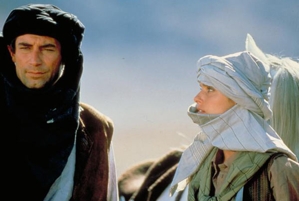 Bond leading the Mujaheddin.